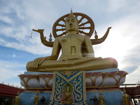 Big Buddha statue in Samui Stock Photo - 14666415