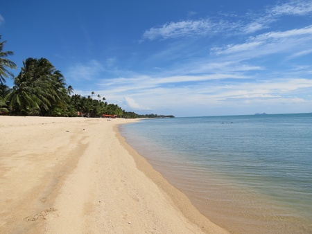 Mae Nam tropical paradise beach photo