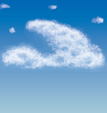 simple sky: image that can be used for calendar-style pin-up, without detailing the simple image of clear sky in bright colors