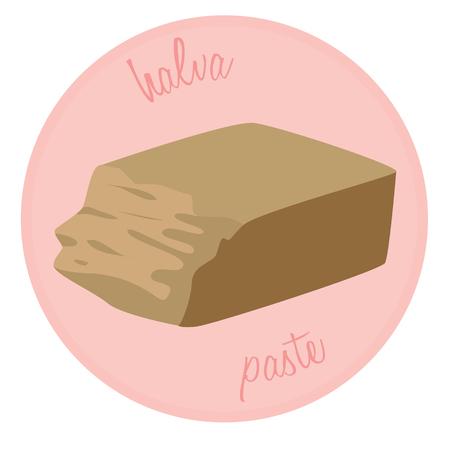 Halva - sweet Asian dessert, junk food