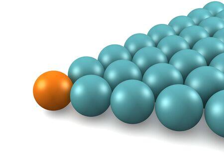 Billiard balls. isolated Stock Photo - 901865
