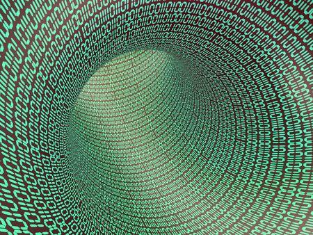 Binary code. photo