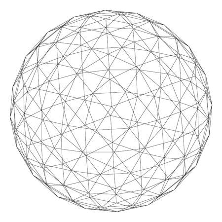 planet symbol.   Vector.