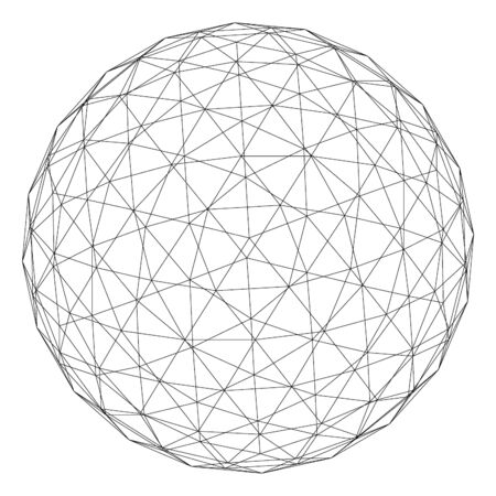 connecting: planet symbol.   Vector.