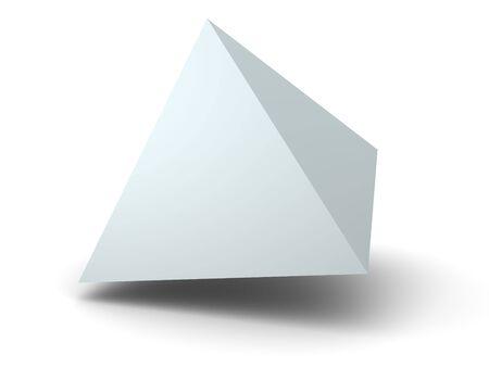Pyramid. 3d Stock Photo - 901958