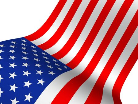 independency: Flag the USA