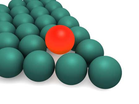 Billiard balls. isolated Stock Photo - 905300