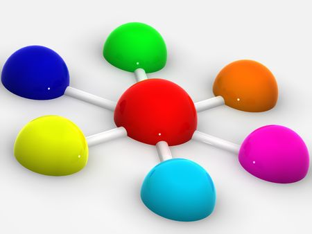 organization with diversity. cooperation Stock Photo - 905324