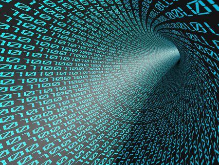 parallel world: Binary code.