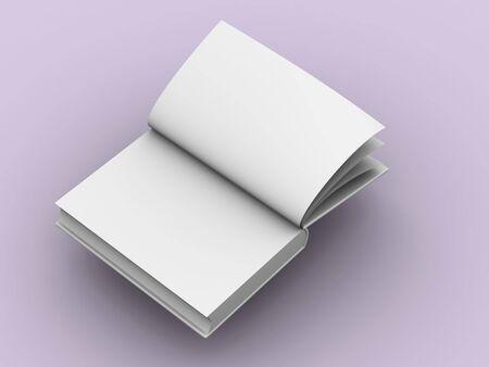 illiteracy: 3d libro abierto