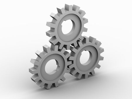 gear. 3d Stock Photo - 912232