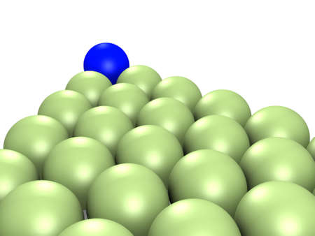 Billiard balls. isolated photo
