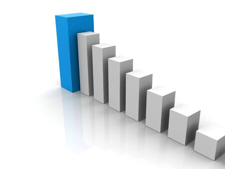 3d business statistics Stock Photo - 916875