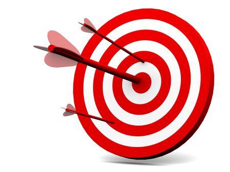 projectile: Target. 3d