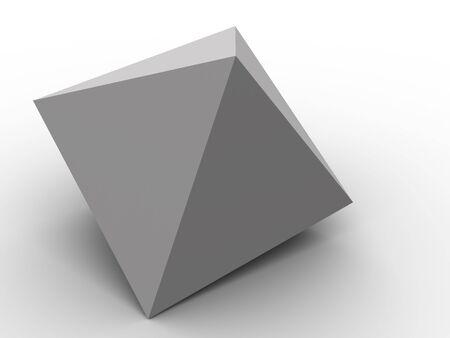 Pyramid. 3d photo