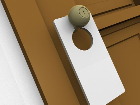 door. 3d Stock Photo - 919913