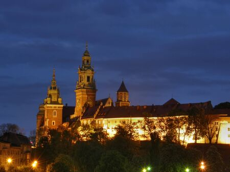 Wawel. Cracovia. Una parte antica della citt�. Polonia.