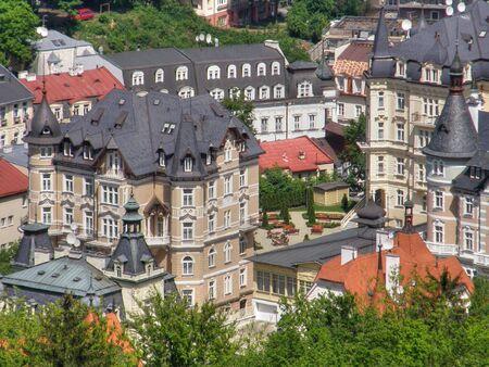 karlovy: Karlovy Vary town.