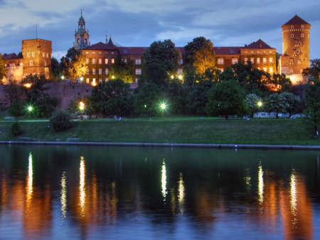 Wawel. Krakow. An ancient part of city. Poland. Stock Photo - 1124295