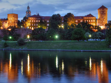 Wawel. Krakow. An ancient part of city. Poland. Stock Photo - 1124295