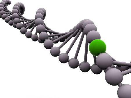 gene in DNA. 3d Stock Photo - 1164892