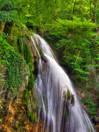 Waterfalls. Crimea. Ukraine. Stock Photo - 1464641