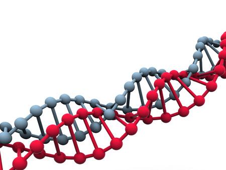 gene in DNA. 3d photo