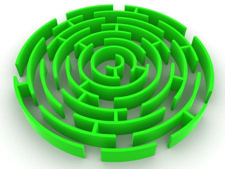Labirinto. 3d.