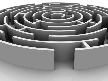 Labyrinth. 3d.