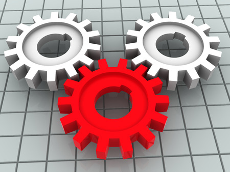 gear. 3d Stock Photo - 1693467