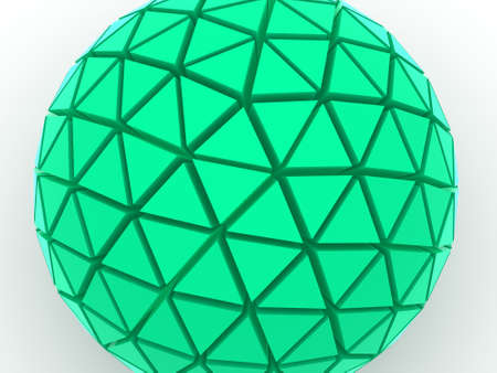Sphere 3d Stock Photo - 1736945