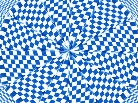 reviewing: Checker background. 3d Stock Photo