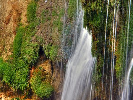 murmur: Waterfalls. Crimea. Ukraine.