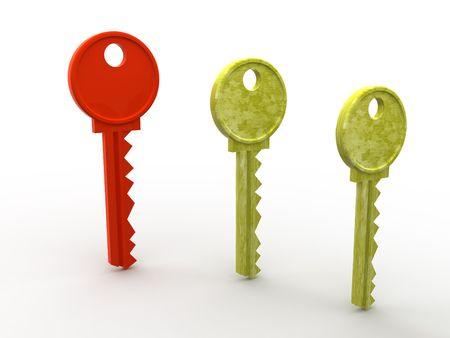 lockout: Key. 3d