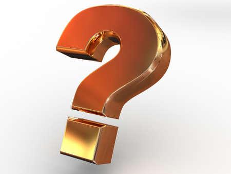 quest: Question Sign. 3d.
