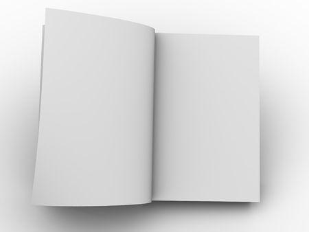 educating: Open book Stock Photo