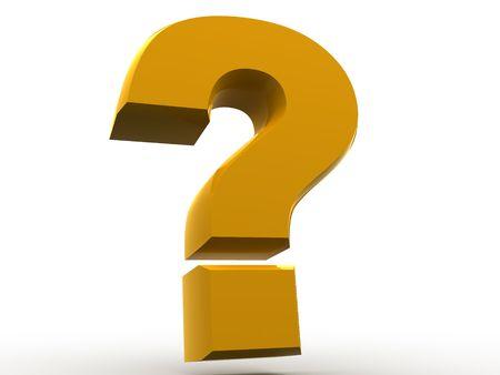 quest: Question Sign. 3d