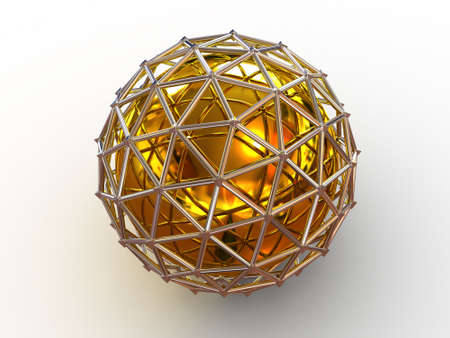 intricacy: Sphere. 3d