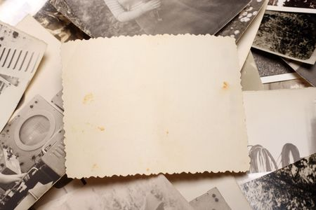 old photo album: Vintage Photo. Abstract Background. Stock Photo