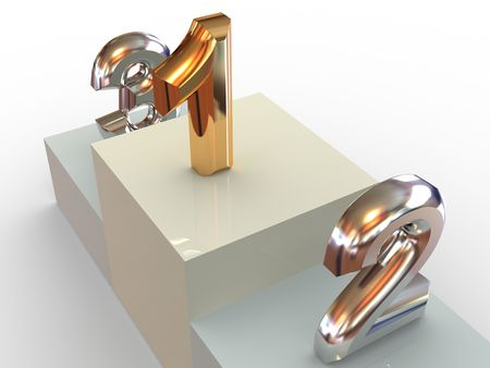 dais: Sports pedestal. 3d