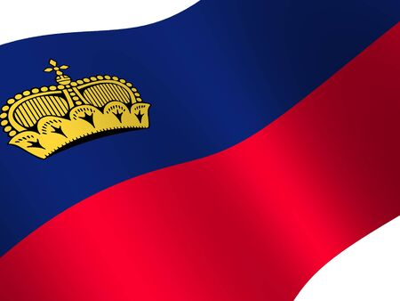 liechtenstein: National Flag. Liechtenstein