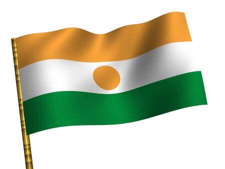 niger: National Flag. Niger