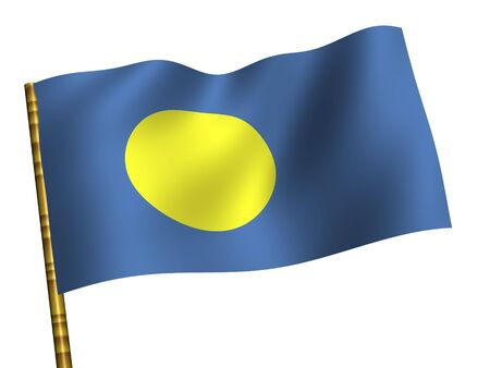 palau: National Flag. Palau