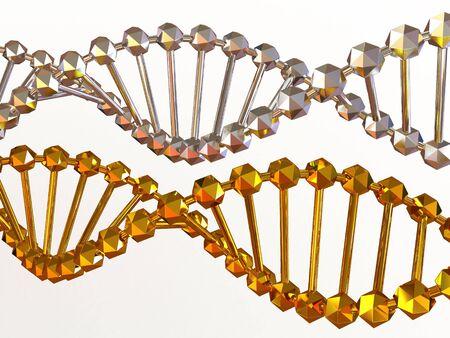gene in DNA. 3d Stock Photo - 3463306