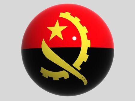 angola: National Flag. Angola