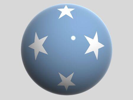 micronesia: National Flag. Micronesia