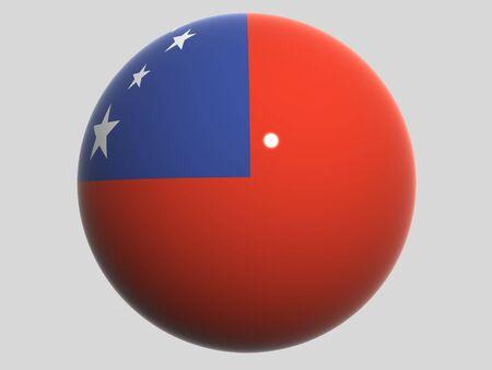 samoa: National Flag. Samoa