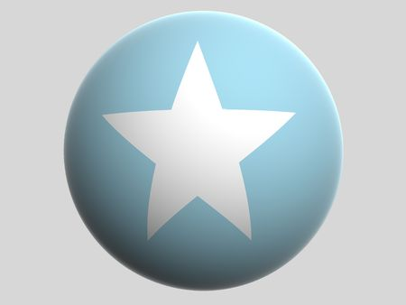 somalia: National Flag. Somalia Stock Photo