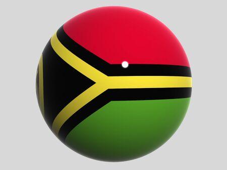 vanuatu: National Flag. Vanuatu Stock Photo