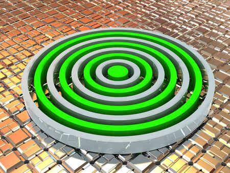Labyrinth. 3d Фото со стока